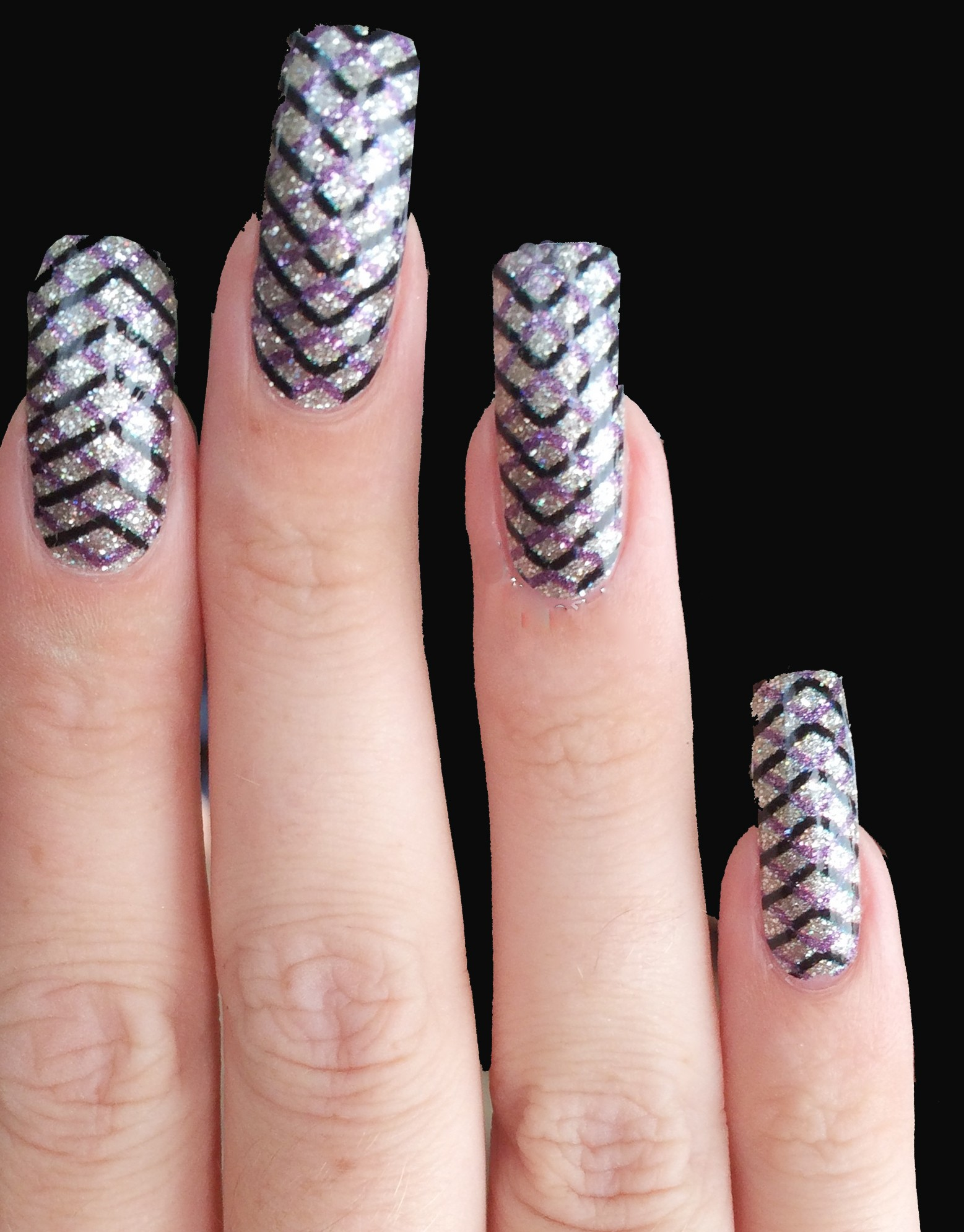 OPI Pure Nail Lacquer App Zig Zag Sparkle