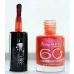 Rimmel 60 Second Nail Polish/Nail Varnish(409 Coral Crush)