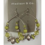 Bali Of Glow Olives Earrings