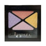 RIMMEL GLAM EYES QUAD EYE SHADOW (025 SUMMER BLOOM)