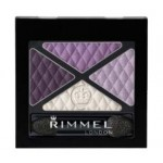 RIMMEL GLAM EYES QUAD EYE SHADOW (017 DARK SIGNATURE)