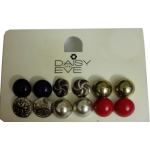 Daisy Eve Tops Earrings in Six Colours