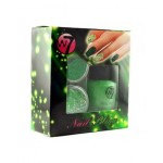 W7 Nail Bling Nail Art Glitter Set - Green Devil