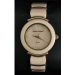 WHITE THOMAS ZACHERY LADIES CERAMIC AND STAINLESS STEEL WATCH