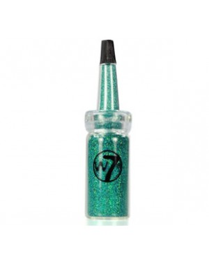 W7 Cosmic Nail Dust Glitter Nail Art (Sea Green)
