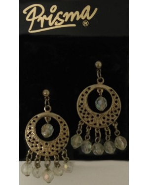 Crystal Glass Of Chand Earrings