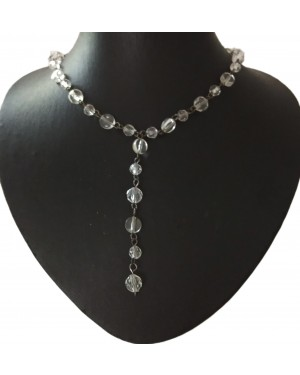 Linking Glass Beaded Necklace