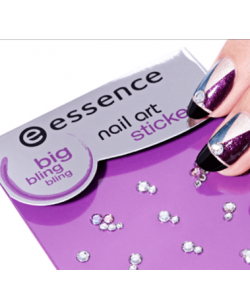 Essence Cosmetics Nail Art Strass Stickers - 02 Bling Bling